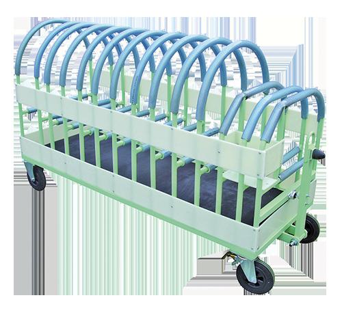Chariot pour pièces aluminium